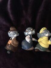 Three Blind Mice Figurines