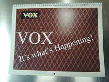 Vintage VOX Guitar Amplifier, Organ, Guitar and PA Calendar - Year 2006