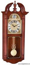 (New!) FERRUM Quartz Chiming Wall Regulator Clock by Hermle Clocks