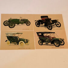 Postcard Mixed Lot Cars Post Card ephemera oldsmobile napier B ford duryea model