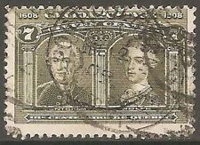 Quebec Used North American Stamps