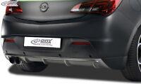 RDX Heckdiffusor OPEL Astra J GTC Heck Ansatz Schürze Diffusor Hinten PUR ABS