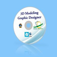 2018 3D Modeling & Graphic Design Animation Software Windows10 Mac OSX Sierra