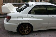 Subaru Impreza GDB Blobeye Version 8 WRC Voltex Style Rear Wide Panel Fenders