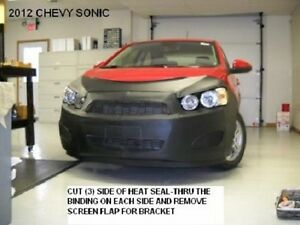 Lebra Front End Mask Bra Fits 2012 2013 2014 2015 Chevy Chevrolet Sonic