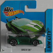 Hot Wheels - Quick N´ Sik grünmet. Neu/OVP