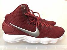 Nike Hyperdunk 2017 TB 897808-601 Burgundy/Slvr/Wht Sz 11.5