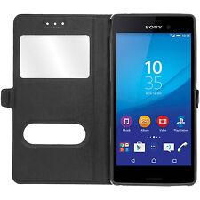 Etui Housse Coque Pochette View Case pour Sony Xperia Z3 Compact