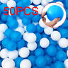 50pcs Colorful Ball Soft Plastic Ocean Ball Funny Baby Kids Swim Pit Pool Toys