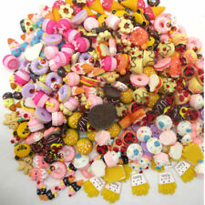 Funny Play Toy Food Cake Biscuit Donuts Miniature For Barbie Dolls 10pcs/lot