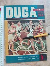 1960 Olympic Games ROME OLYMPICS ATHLETICS Yugoslavia MAGAZINE PHOTO Eva Bartok