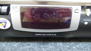 Old School Heavy Philips CD 723 CD Player Bit Check Conversion Re Writable Read
