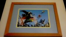 Disney Store It's a Bugs Life Lithograph matted and framed from 1999