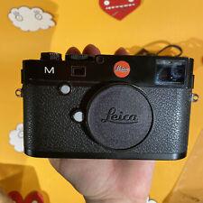 Leica M240 (24 mega pixel) M mount Black digital rangefinder mirrorless camera