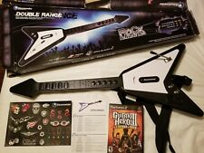 Antcommandos Wireless Guitar Hero PS2PS3 DRV-WL-BLKV3 Rock Band No Dongle w/game