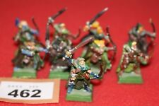 Games Workshop WARHAMMER BOSCHI WOOD ELVES ELF glade guard Figure in metallo Esercito fuori catalogo
