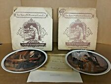 Norman Rockwell Mothers Day Series Collector Plates Lot 1979,1980 Nos