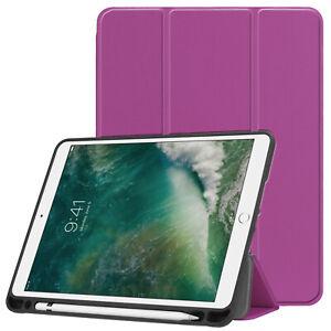 Cover For Apple IPAD 9.7 2017/2018 Case Slim Case Smart Cover Case Purple