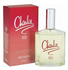 CHARLIE RED REVLON PROFUMO DONNA EDT EAU DE TOILETTE 100ml SPRAY REGALO WOMAN