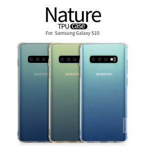 Nillkin Soft TPU Cover Transparent Clear Case For Samsung Galaxy S10 /+Plus S10e