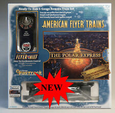 LIONEL AMERICAN FLYER POLAR EXPRESS BLUETOOTH TRAIN SET S GAUGE AF rail 6-44039