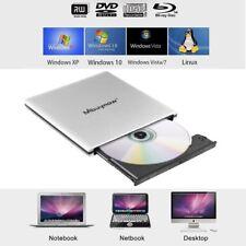 Extern Blu-Ray CD Brenner DVD RW Combo Laufwerk Kopierer Leser Recorder USB 3.0