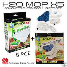 Danoz Direct H20 X5 Microfiber Advanced Clean Pack [8 PIECE SET] + WARRANTY