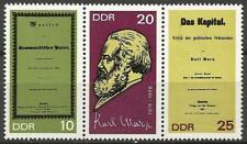 Germany (East) DDR GDR 1968 MNH - 150th Birth Anniversary Karl Marx Das Kapital
