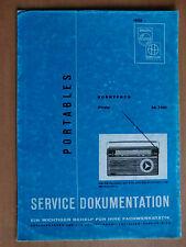 Dokumentation Philips Hornyphon Siesta SA 7480 mit Schaltplan Stückliste ...