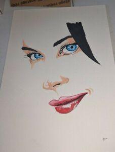 Portrait original Color Pencil Drawing 8x10