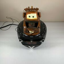 Disney Cars Tow Mater Digital Alarm Clock Radio  Tested See Pictures