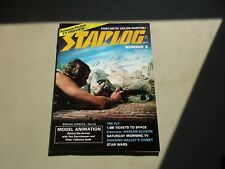 Starlog #8 Sept 1977 Model Animation Star wars Kiss science fiction mag
