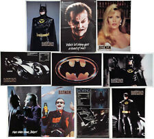 """Vintage 1989 Original Batman Movie Poster Collection 23""""x34""""- Your Choice of 10"""