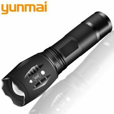 XM-L2 6000LM Aluminum Waterproof Zoomable CREE LED Flashlight Torch Tactical