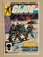 G.I. Joe A Real American Hero! 2nd Print #2 Direct Edition 5.0 (1982)