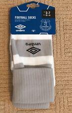 Everton football socks size UK2-7 Eur 35-40 Umbro BNWT
