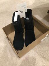 Women Black Classic Short Ugg Sparkle Size 7 W/1096472