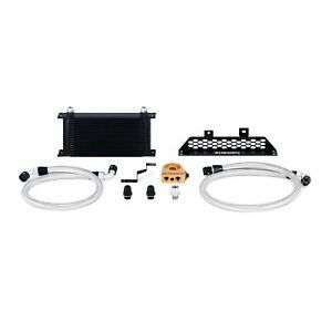 Mishimoto Oil Cooler Kit Low-Temp Thermostatic Fits Ford Focus ST 2013+ Black