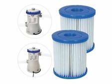 Cartuccia ricambio pompa filtro pulizia piscina 3028 pz 2 bestway tipo II 58094