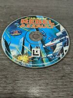 Star Wars: Rebel Assault pc cd rom 3 playable demo disc super rare promo htf
