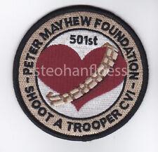 "Star Wars Celebration VI 501st Peter Mayhew Foundation Official Patch 3.5"""
