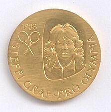 Medaille Tennis wieder olympisch Steffi Graf pro Olympia Ø 36 mm 16 Gr. B37