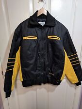 Vintage Bombardier Sportswear Ski-Doo Snowmobiling Jacket Quilted Medium