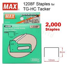 MAX 1208F Staples (8mm) for MAX TG-HC Gun Tacker Stapler