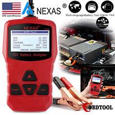Nexas NB300 12V Auto Car Battery Load Tester Starter Charging Analyzer 1000 CCA