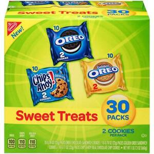 Nabisco Cookies Sweet Treats Variety Pack - with Oreo, Chips Ahoy, & Golden...