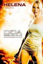 DOA: DEAD OR ALIVE Movie POSTER 27x40 German F Jaime Pressly Holly Valance Sarah