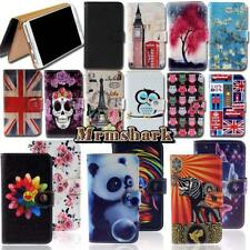 Flip Leather Wallet Card Stand Cover Case For Sony Xperia M M2 M4 M5 Phones
