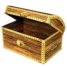 Pirates Treasure Chest 20cm Cardboard - Party Decoration