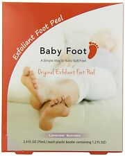 Baby Foot Exfoliant Peel, Lavender Scented 2.4 fl oz | Sealed Original Box